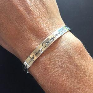 Jewelry - Serenity Prayer Sterling Silver Bracelet